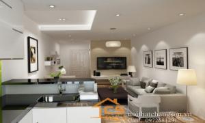 Nội thất chàng sơn thiết kế nội thất chung cư Trung Văn