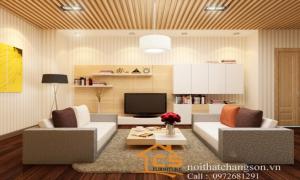 Thiết kế nội thất chung cư KĐT Văn Khê - Nội thất chàng sơn