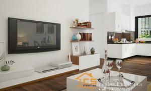 Thiết kế nội thất chung cư P1602.Nhà CT1 - VOV  -Thanh Xuân -Hà Nội