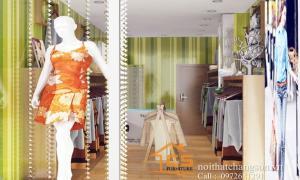 Thiết kế shop thời trang Hàng Mành nhà anh Dũng