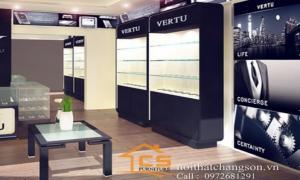 Thiết kế showroom điện thoại Số 1A Phố Huế, Hoàn Kiếm, Hà Nội