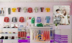 Thiết kế và thi công nội thất shop trẻ em Chị Ly Quang Trung