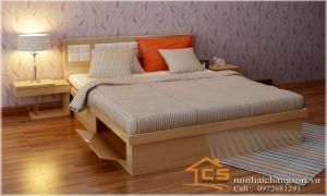 Sự hoàn hảo của những mẫu giường ngủ gỗ công nghiệp đẹp