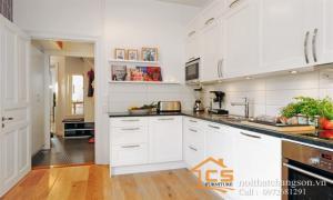 Nét đẹp trong thiết kế nội thất phòng bếp chung cư hiện đại