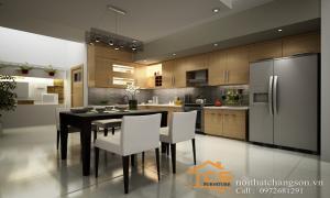 Giúp bạn một thiết kế nội thất phòng bếp phù hợp với không gian