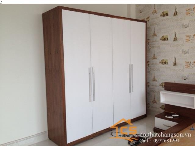 Tủ quần áo gỗ công nghiệp đẹp tại Hà Nội 6