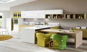 Tủ bếp gỗ nhựa Picomat và những ưu điểm của ván nhựa
