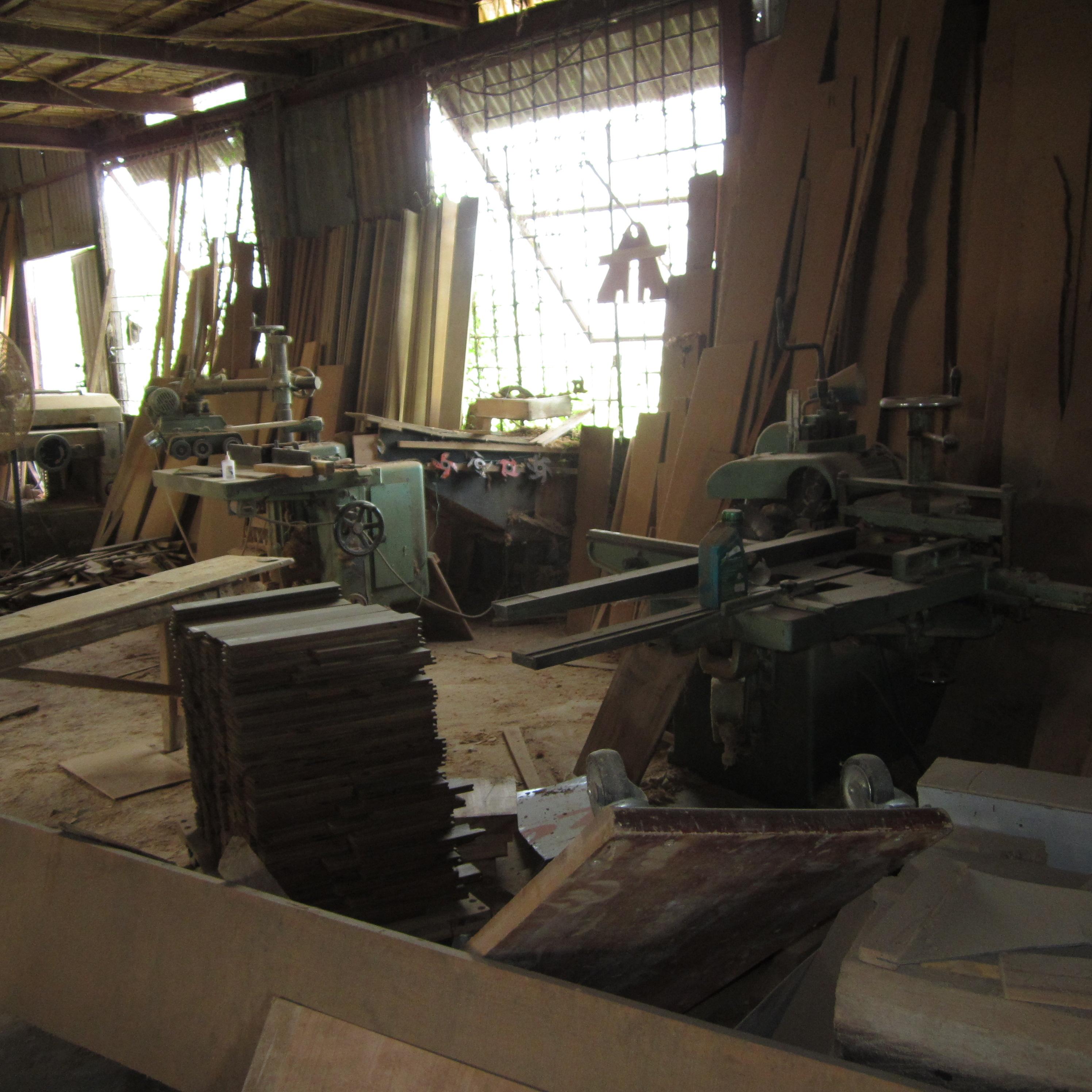 Xưởng thi công nội thất