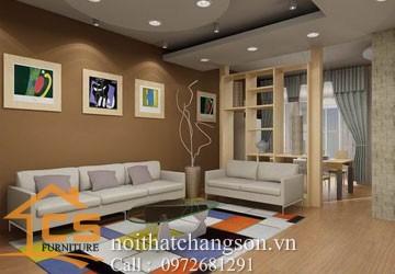 Vách ngăn phòng đẹp VNPDD9 - nội thất chàng sơn