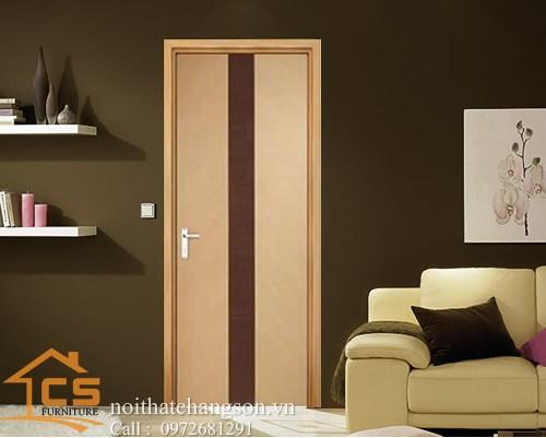 Hình ảnh cửa gỗ công nghiệp đẹp CGĐ3 - nội thất chàng sơn