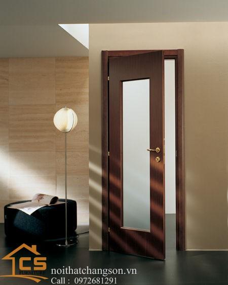 Hình ảnh cửa gỗ công nghiệp đẹp CGĐ2 - nội thất chàng sơn