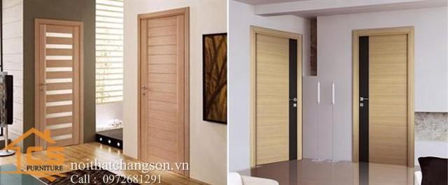 Hình ảnh cửa gỗ công nghiệp đẹp CGĐ6 - nội thất chàng sơn