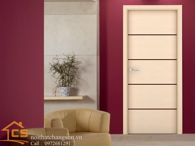 Hình ảnh cửa gỗ công nghiệp đẹp CGĐ7 - nội thất chàng sơn