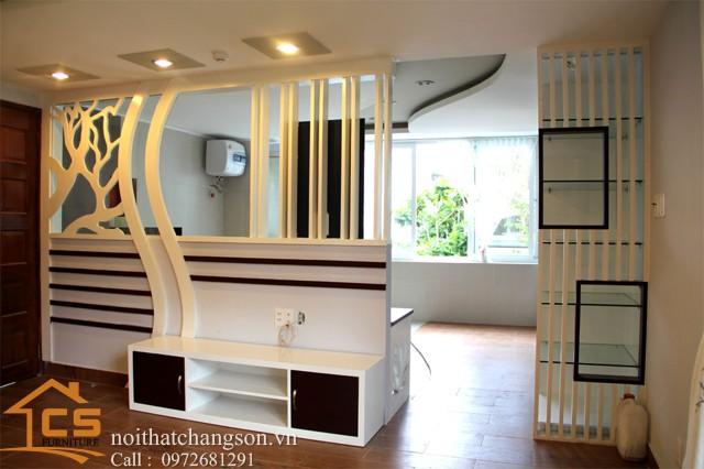 Hình ảnh vách ngăn phòng đẹp VNPĐ2 - nội thất chàng sơn