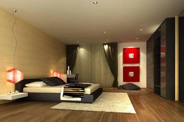 Hình ảnh giường ngủ đẹp gỗ công nghiệp GNĐ2 - nội thất chàng sơn