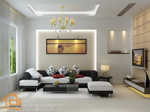 Nội thất phòng khách đẹp và hiện đại 3