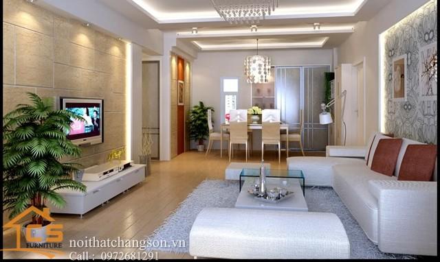 Nội thất phòng khách đẹp và hiện đại 6