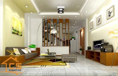 Nội thất phòng khách đẹp và hiện đại 7