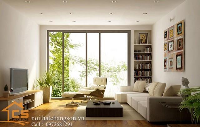 Nội thất phòng khách đẹp và hiện đại 11