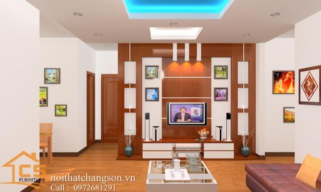 Nội thất phòng khách đẹp và hiện đại 5