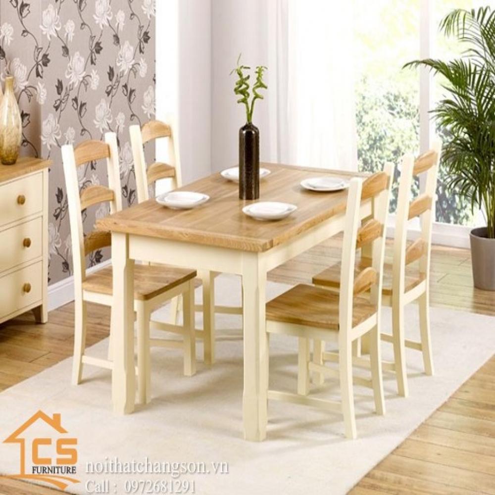 bàn ghế ăn đẹp BGAĐ-15