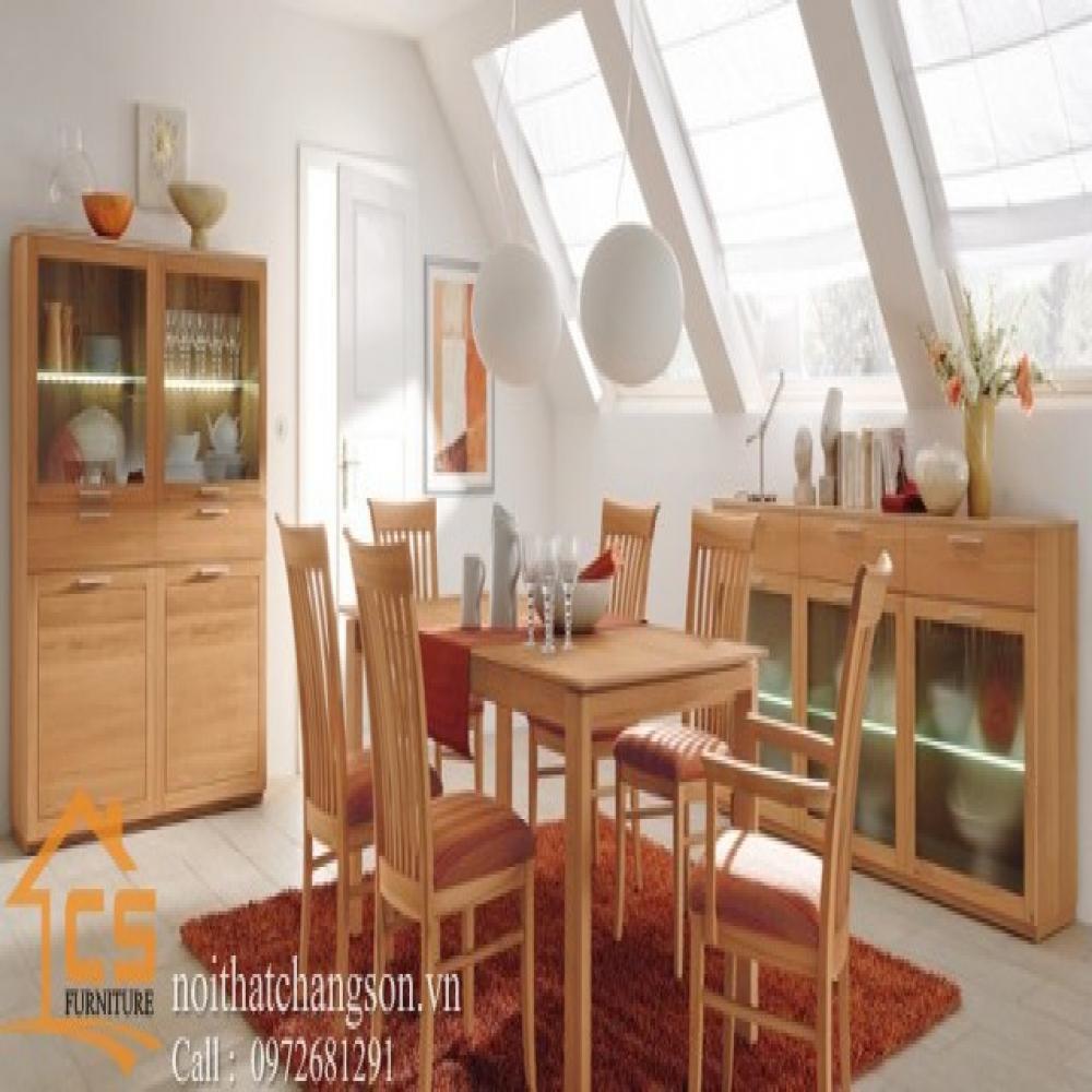 bàn ghế ăn đẹp BGAĐ-32