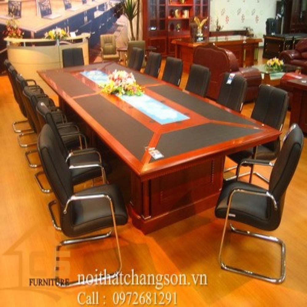 bàn họp văn phòng đẹp BHĐ-9