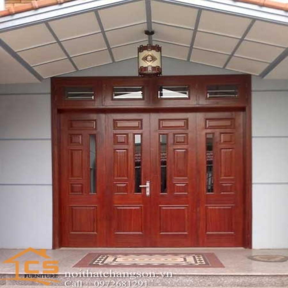 cửa gỗ đẹp CGĐ-15