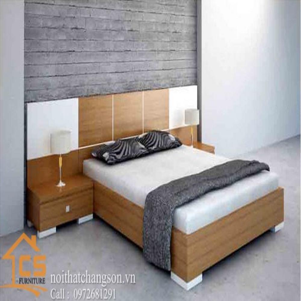 giường ngủ đẹp GNĐ-33