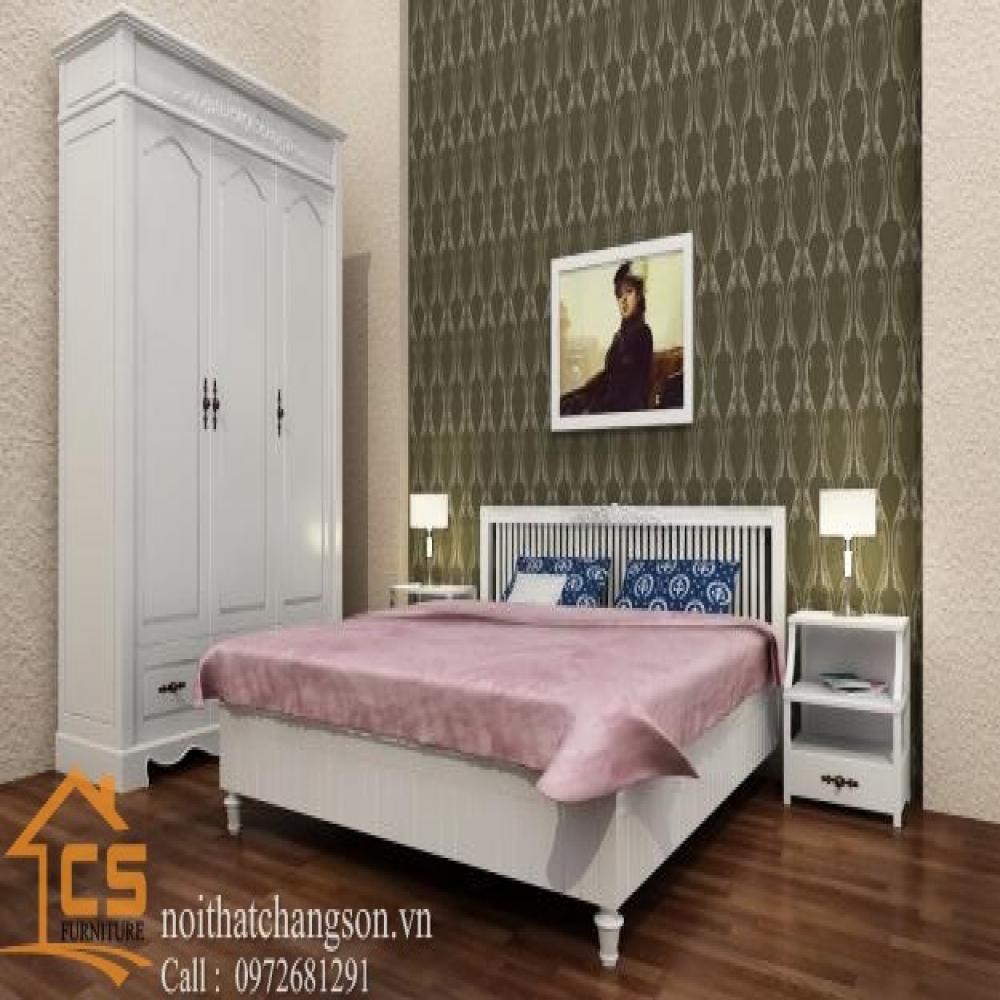 giường ngủ đẹp GNĐ-4
