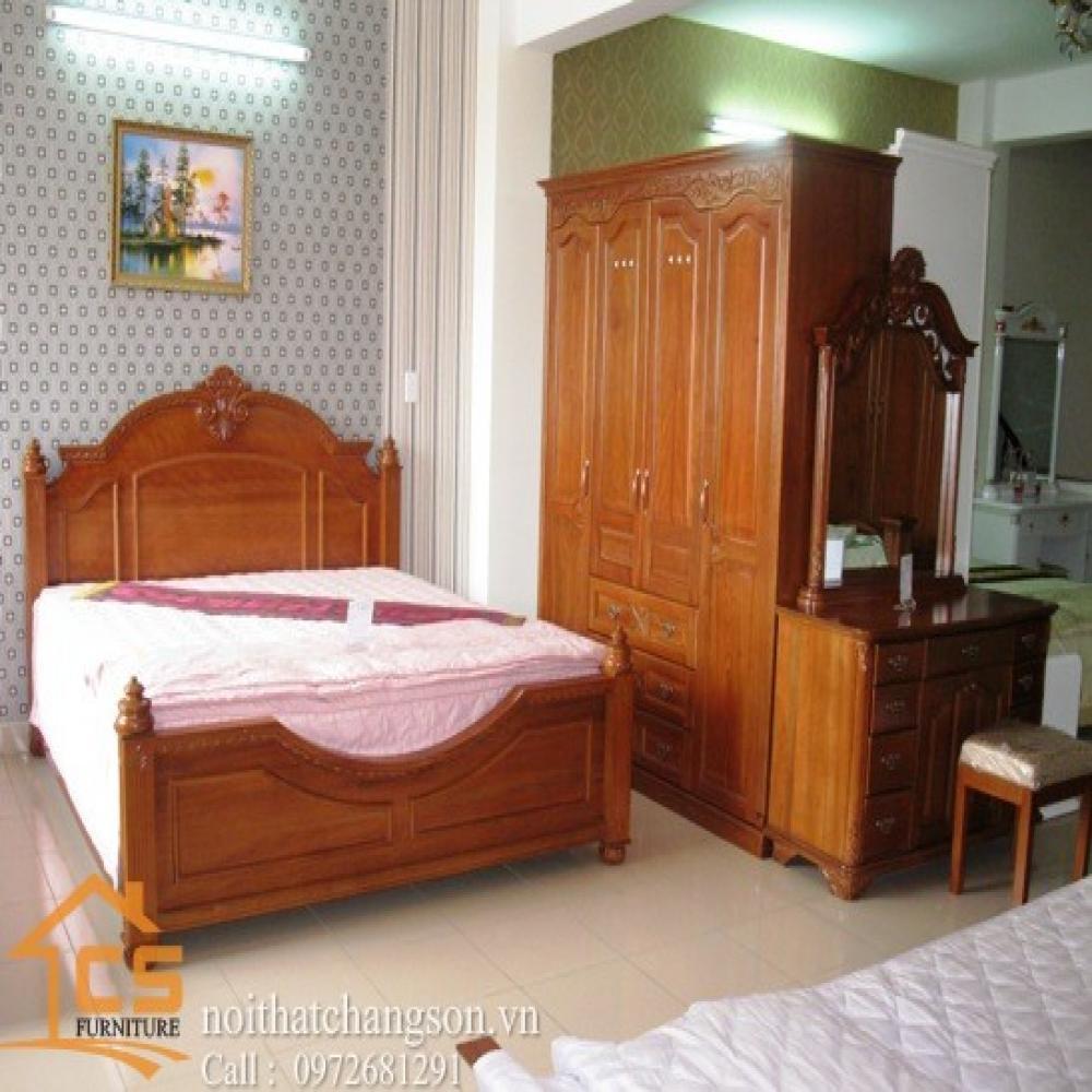 giường ngủ đẹp GNĐ-9