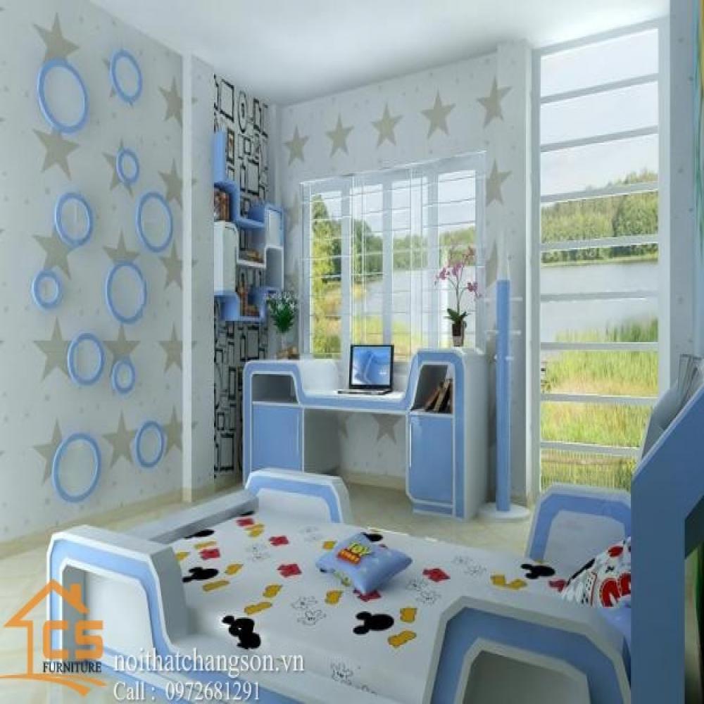 giường ngủ trẻ em đẹp GNTE-10