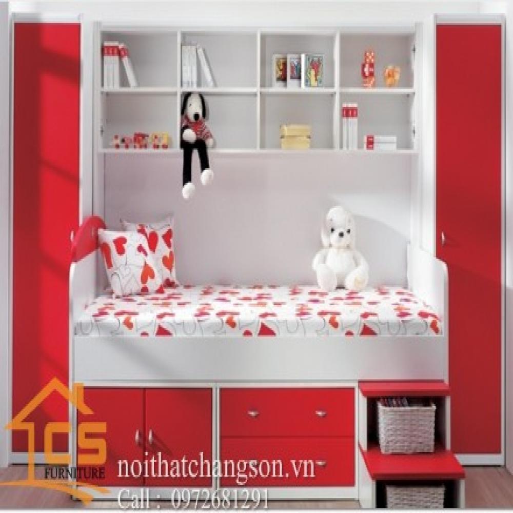 giường ngủ trẻ em đẹp GNTE-11
