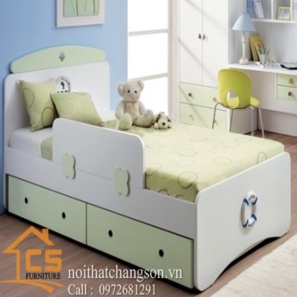 giường ngủ trẻ em đẹp GNTE-12