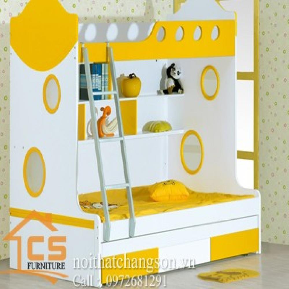 giường ngủ trẻ em đẹp GNTE-16