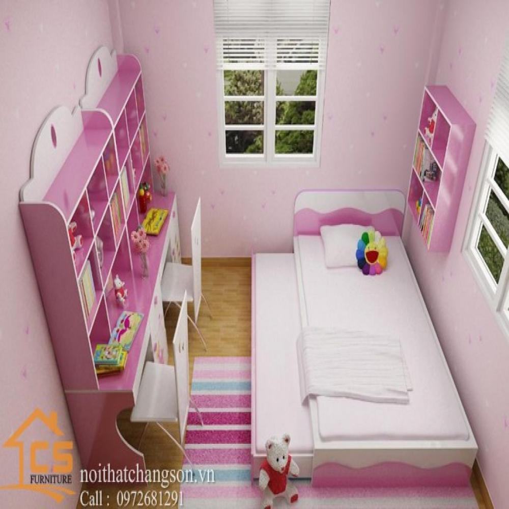 giường ngủ trẻ em đẹp GNTE-17