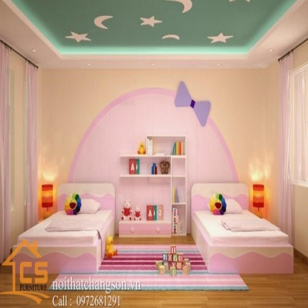giường ngủ trẻ em đẹp GNTE-24
