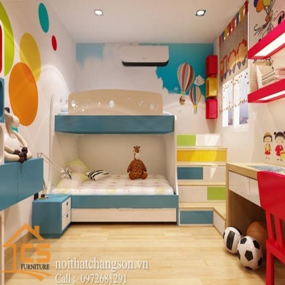 giường ngủ trẻ em đẹp GNTE-25