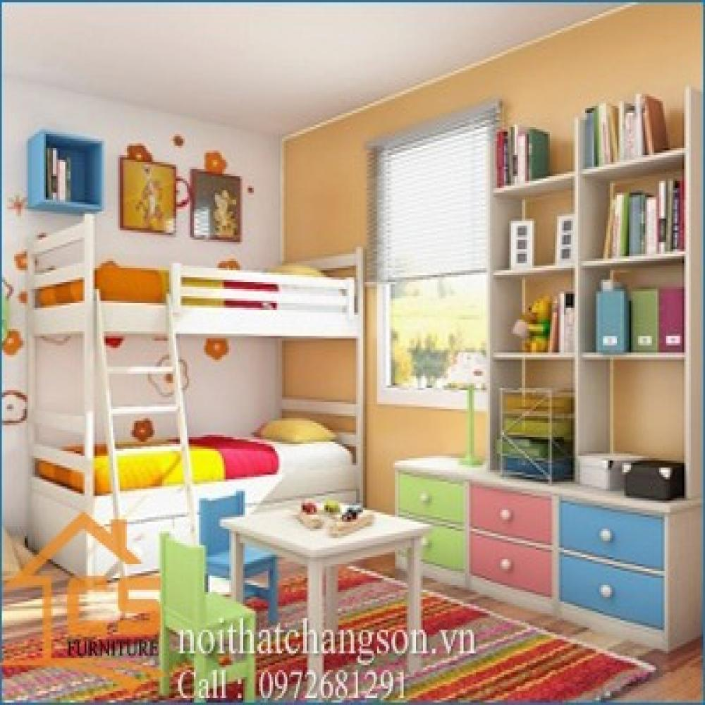giường ngủ trẻ em đẹp GNTE-26