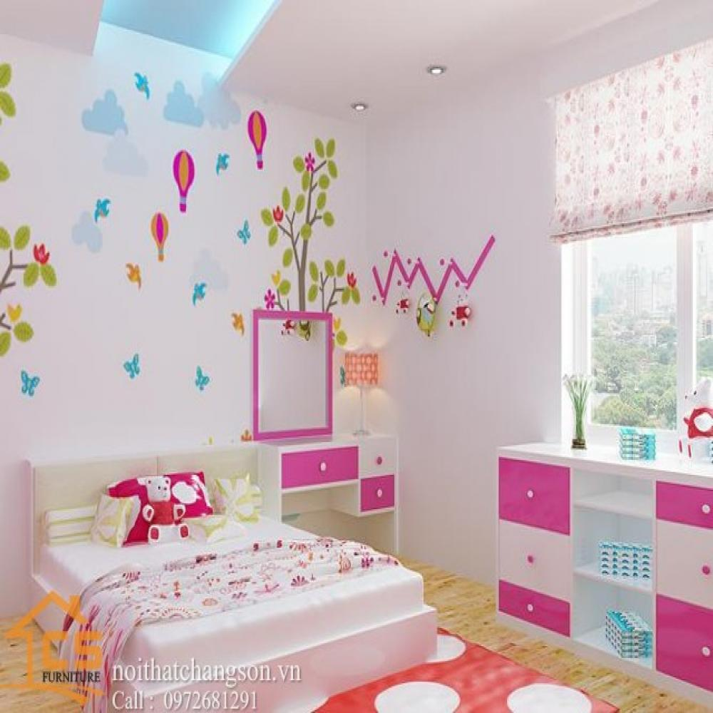 giường ngủ trẻ em đẹp GNTE-28