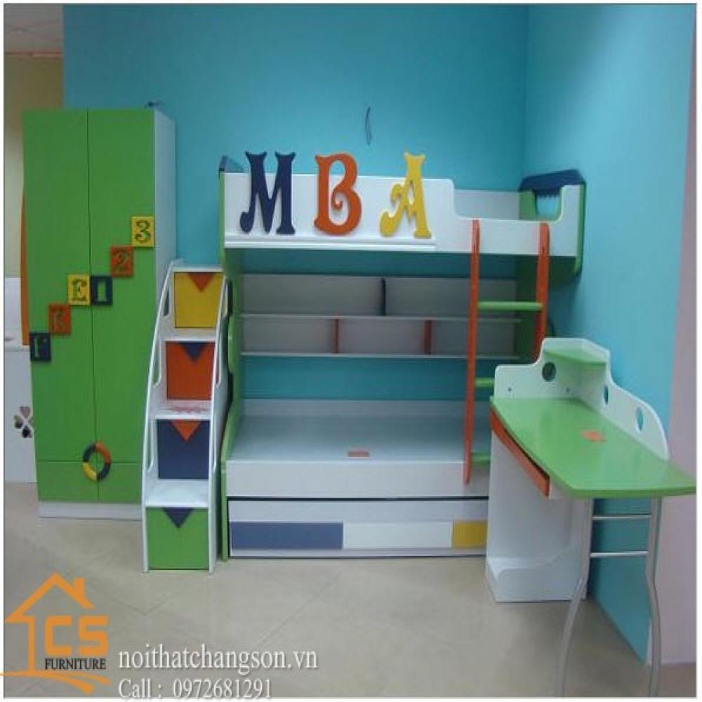 giường ngủ trẻ em đẹp GNTE-3