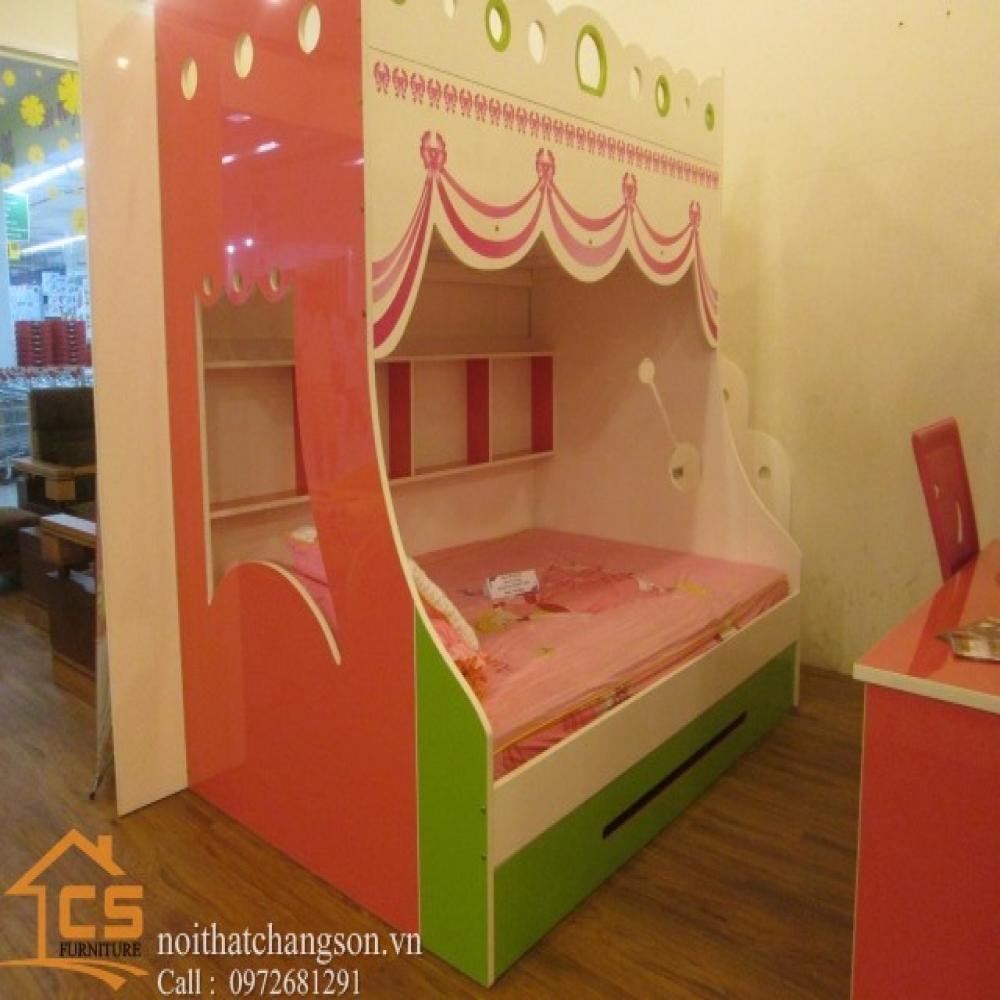 giường ngủ trẻ em đẹp GNTE-30