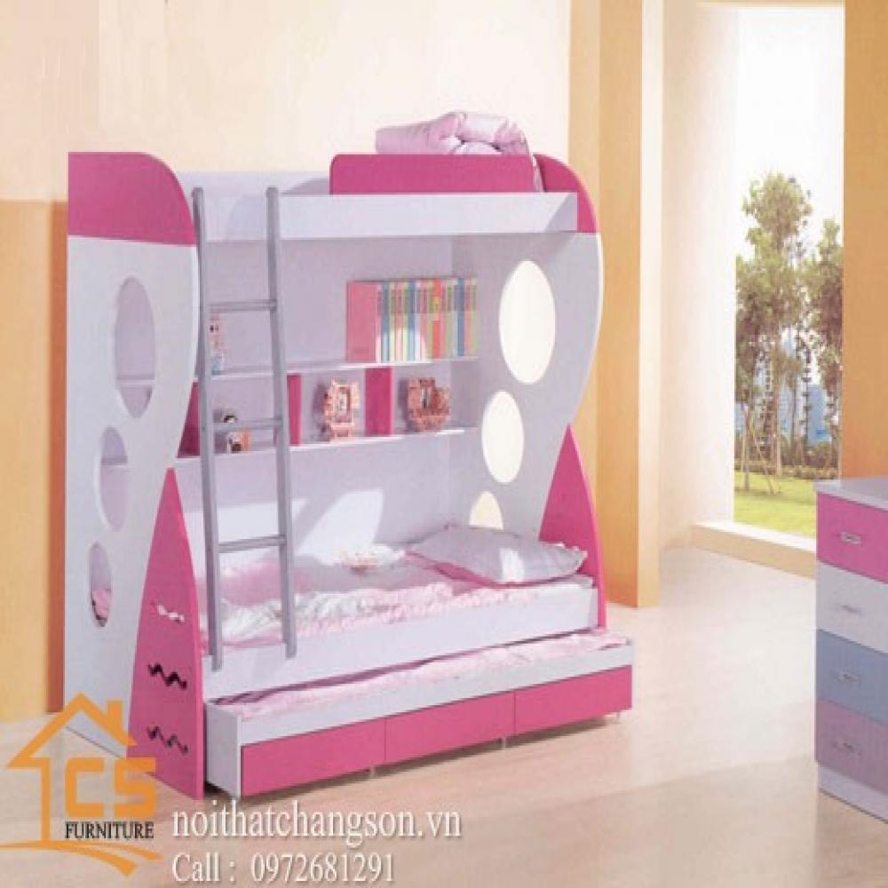 giường ngủ trẻ em đẹp GNTE-5