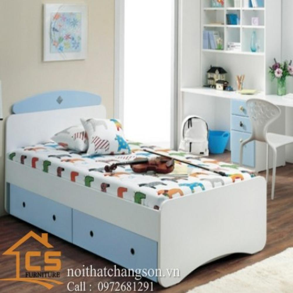 giường ngủ trẻ em đẹp GNTE-6