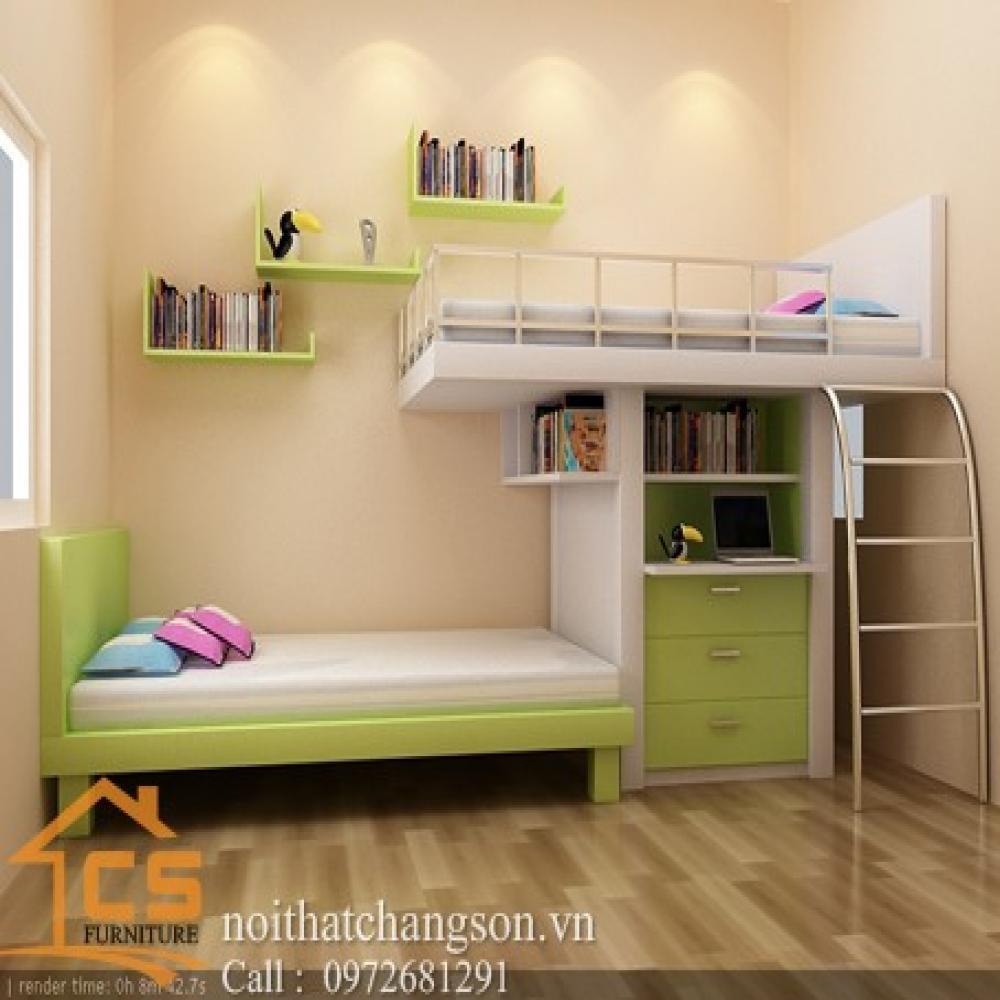 giường ngủ trẻ em đẹp GNTE-9