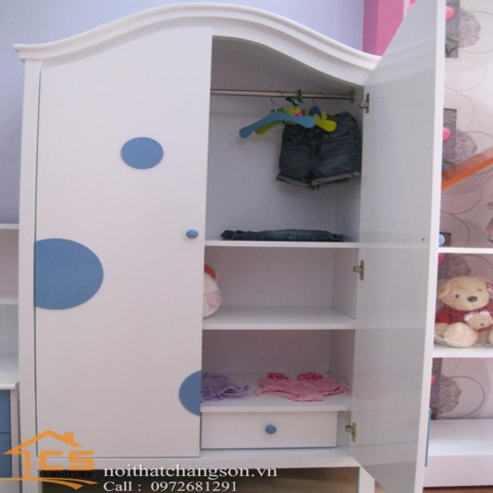 tủ áo trẻ em đẹp TATE-5