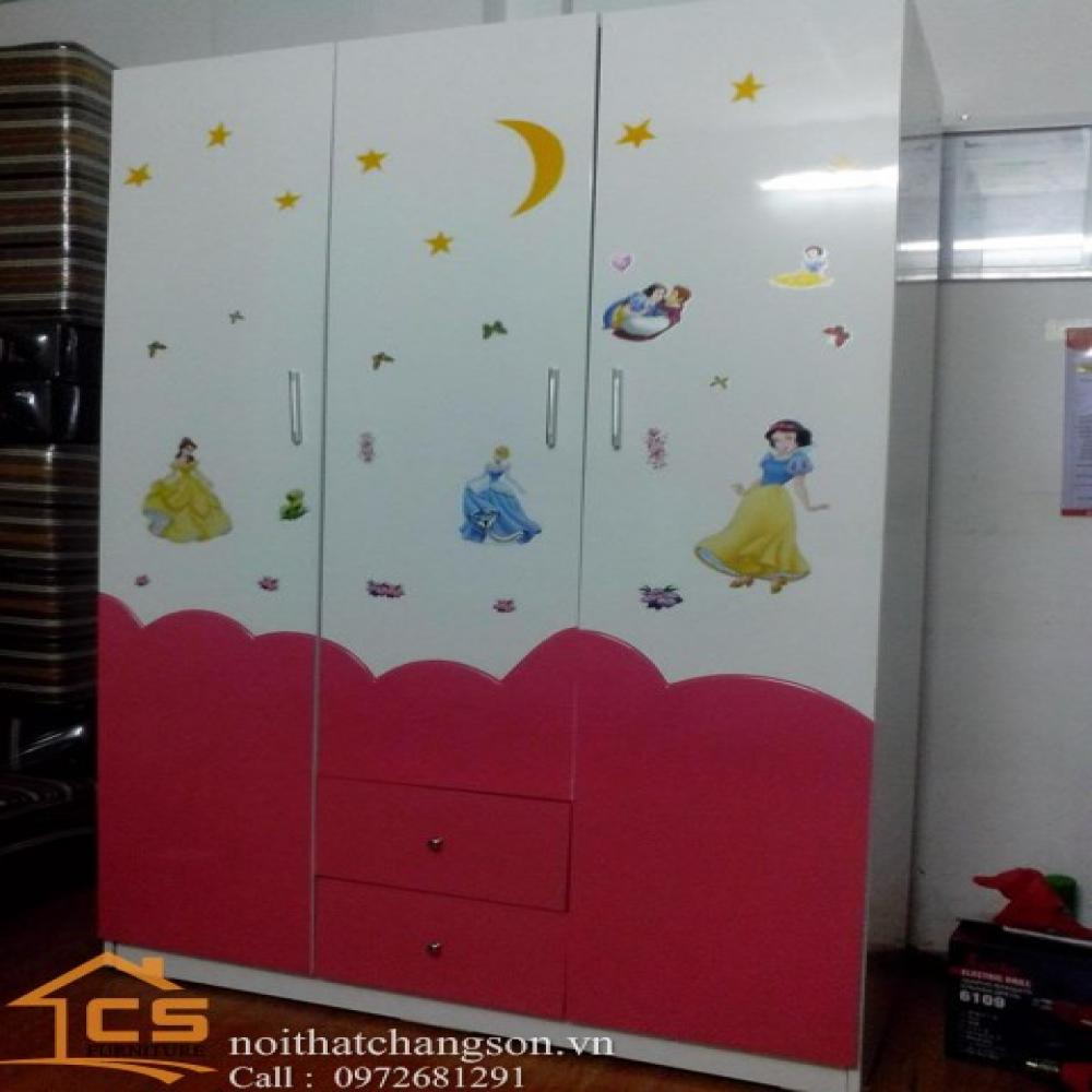 tủ áo trẻ em đẹp TATE-6