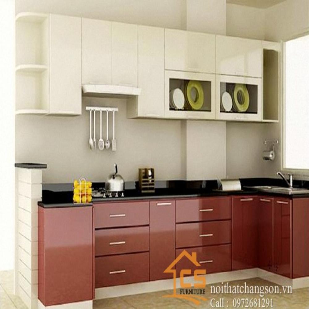 tủ bếp đẹp TBĐ-13