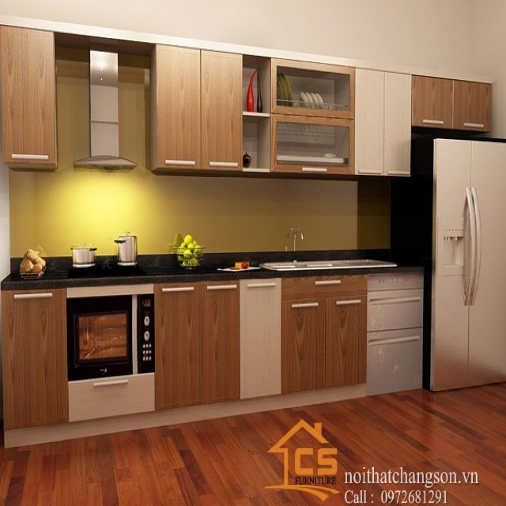 tủ bếp đẹp TBĐ-15