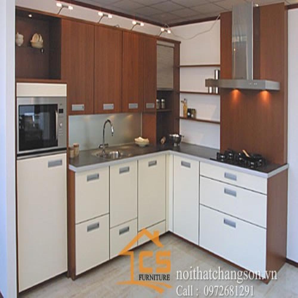 tủ bếp đẹp TBĐ-17